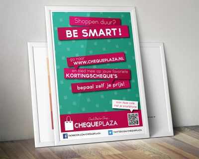 Poster Chequeplaza