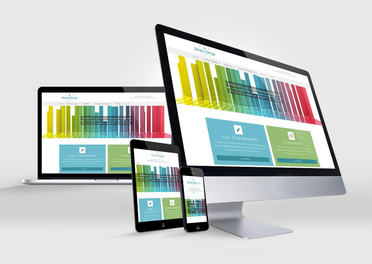 Dimelo Design Website 2017