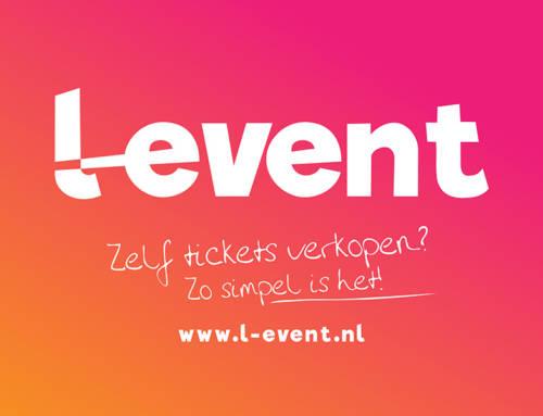 Huisstijl voor L-Event Tickets