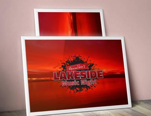 Vernieuwd Logo voor Lakeside Music Night