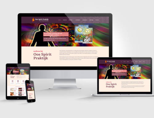 Website voor Oos Spirit Praktijk