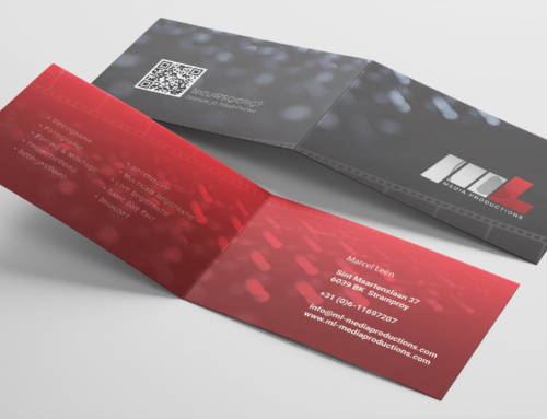 Visitekaartjes voor ML Media Productions