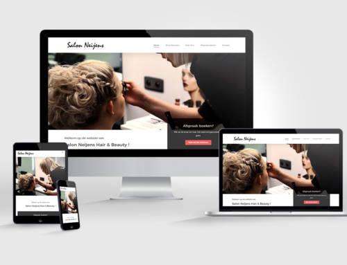 Nieuwe Website voor Salon Neijens