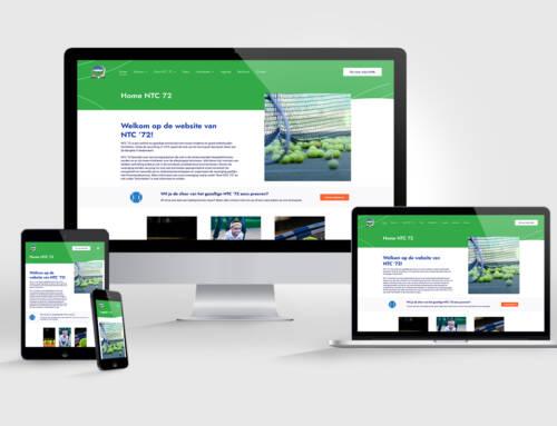 Nieuwe website voor NTC '72